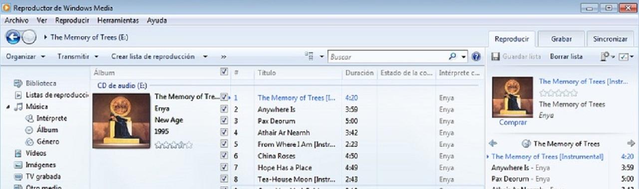 grabar música CD