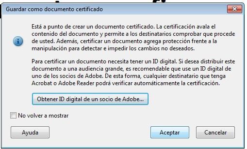 Aviso obtner certificado