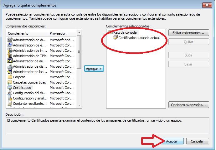 certificado encriptado