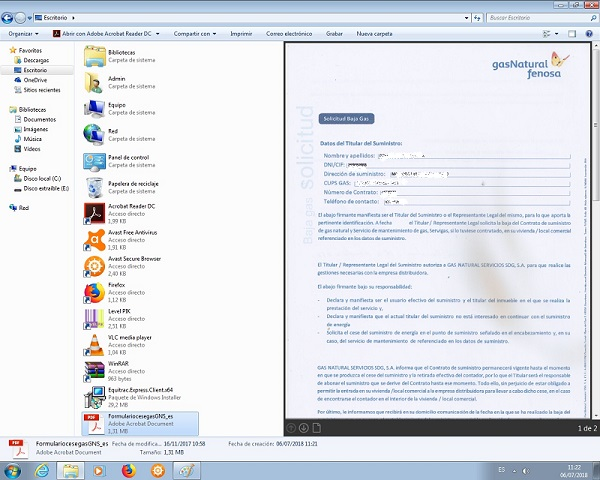 vista previa de documentos pdf