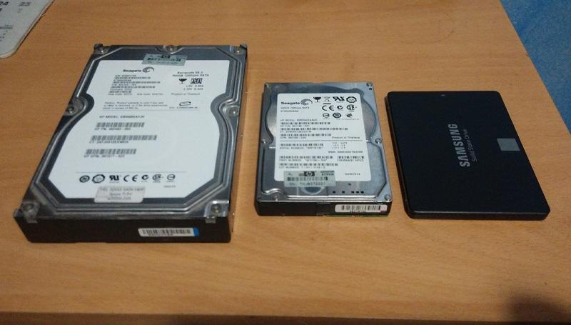 unidad SSD comparativa